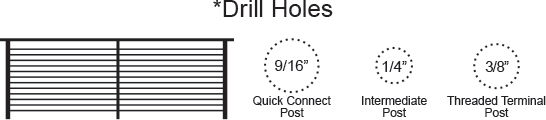drill hole size diagram